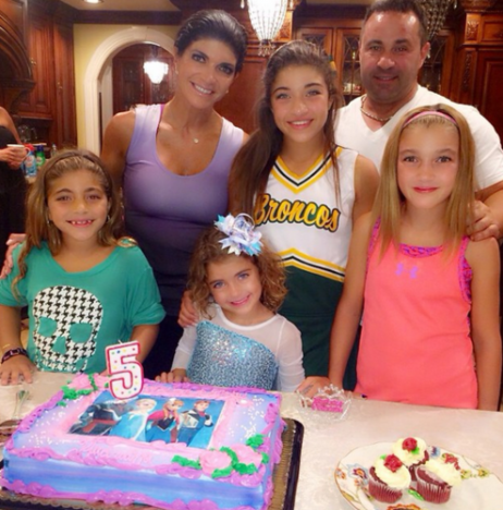 Teresa, Joe Giudice, Daughters