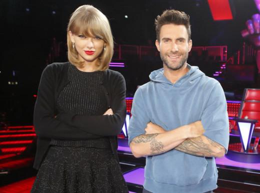 Taylor Swift, Adam Levine