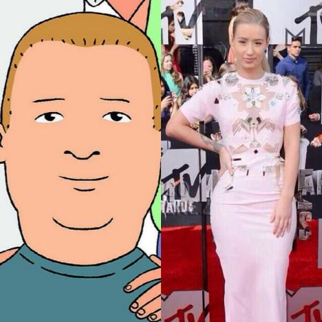 Iggy Azalea and Bobby Hill