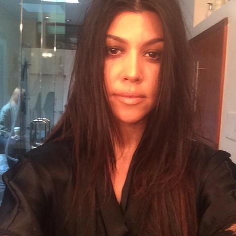 Kourtney Kardashian No Makeup Image