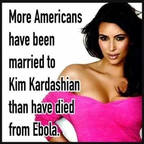 Kim Kardashian vs. Ebola
