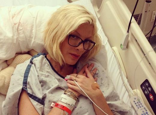 Tori Spelling: Hospitalized For Nervous Breakdown!