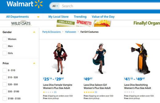 Fat Girls at Walmart