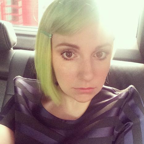 Lena Dunham on Instagram