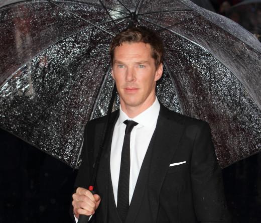 Benedict Cumberbatch in London