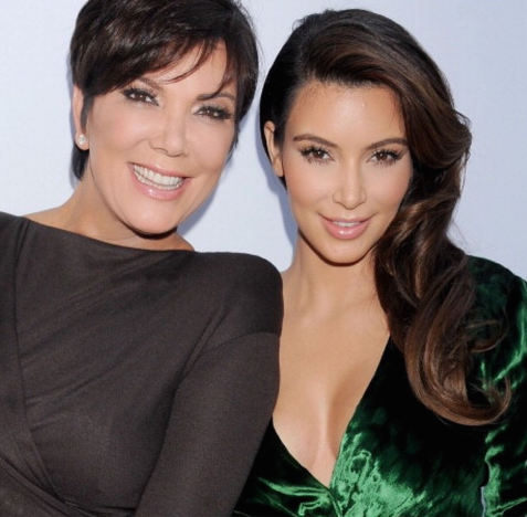 Kris Jenner and Kim Kardashian Picture