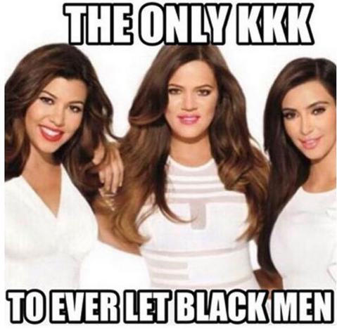 Khloe Kardashian KKK Joke