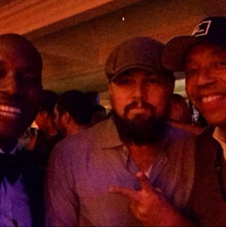 Leonardo DiCaprio, Tyrese, Russell Simmons