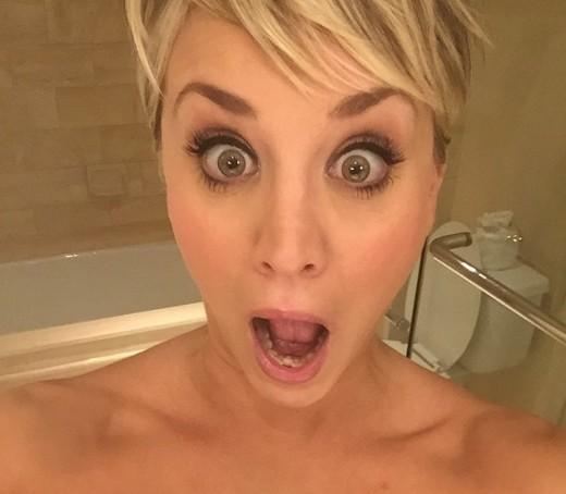 Kaley Cuoco: Shocked!