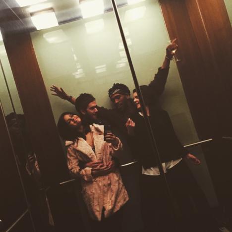 Zedd Holds Selena Gomez