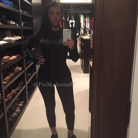 Kourtney Kardashian Waist Photo