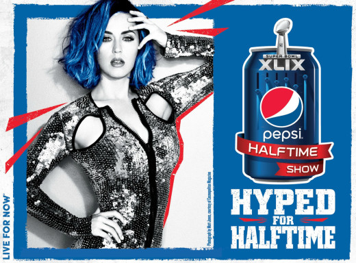 Katy Perry Halftime Ad