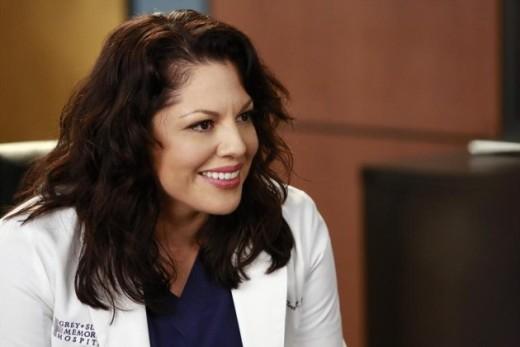 Callie on Grey's Anatomy