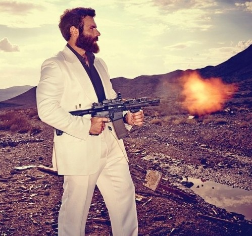 Dan Bilzerian Gun Photo