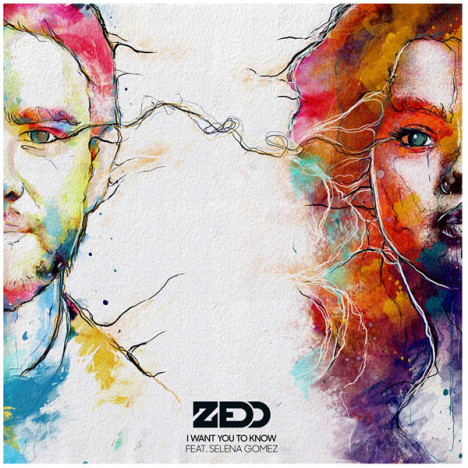 Zedd and Selena Gomez Single Art
