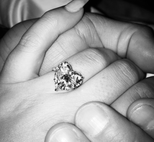 Lady Gaga Engagement Ring Pic