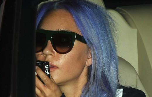 Amanda Bynes' Purple Hair