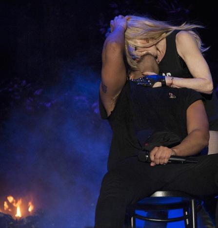 Drake Kisses Madonna
