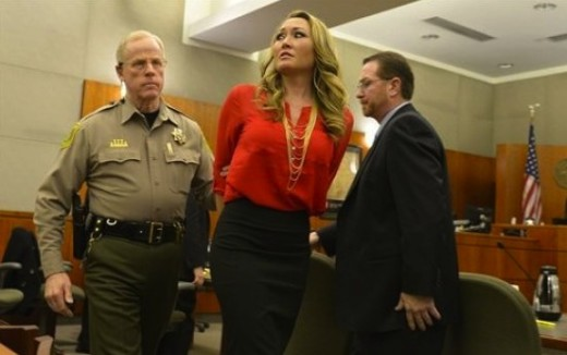 Brianne Altice in Court