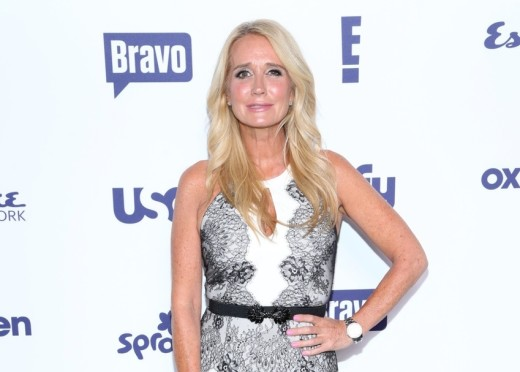 Kim Richards Smirking