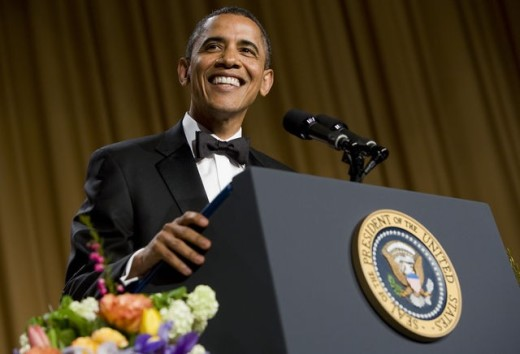 Barack Obama At 2015 White House Correspondents Dinner Putting The Fun In Funeral