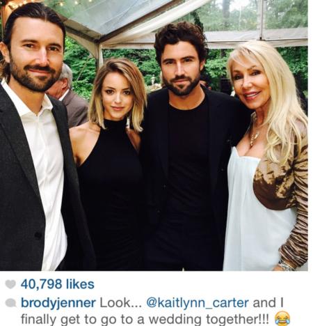 Brody Jenner Wedding Photo