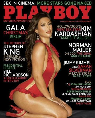 Kim Kardashian, Playboy Cover