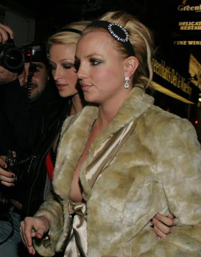 A Britney Spears Nipple Slip