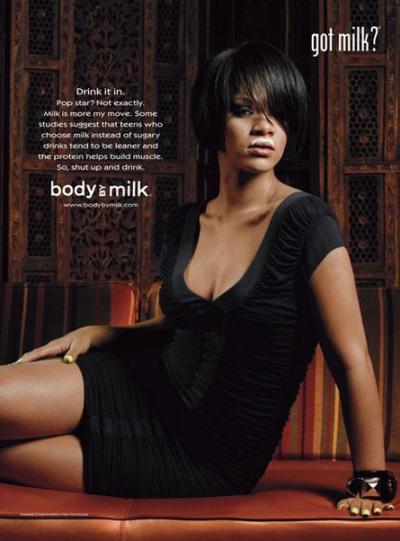 Rihanna Got Milk Ad