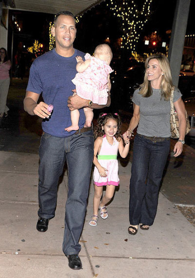 Alex Rodriguez, Cynthia Rodriguez and Kids