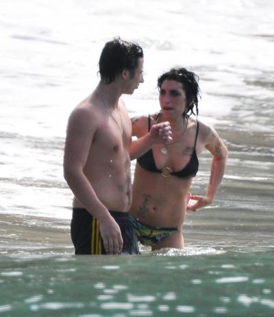 Amy Winehouse Bikini Pic