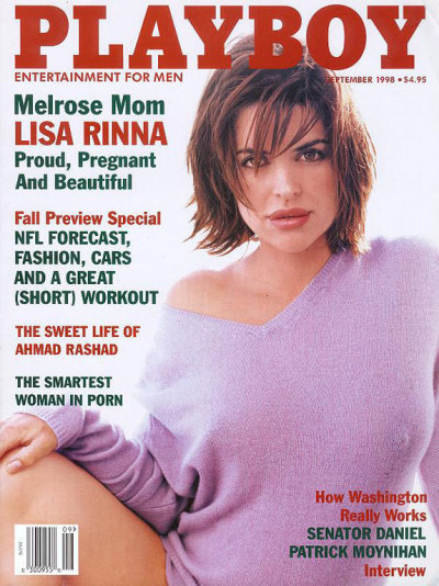 Lisa Rinna, First Playboy Cover