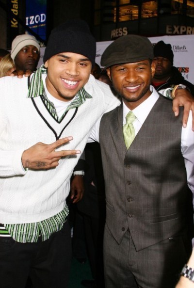 Chris Brown, Usher Pic