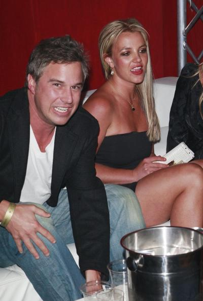 Jason Trawick and Britney Spears