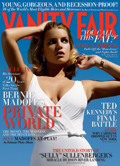 Jessica Simpson Vanity Fair Cover