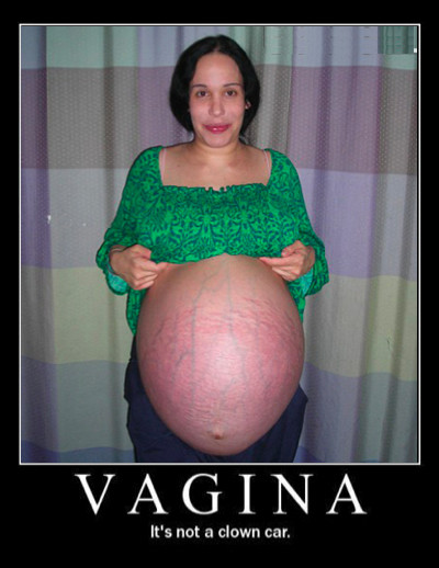 Vagina = Clown Car
