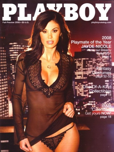 Jayde Nicole, Playmate of the Year 2008