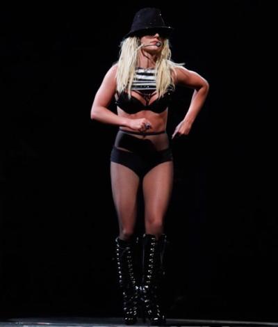 Britney Struttin' It