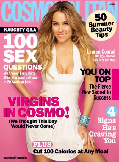 Lauren Conrad Cosmopolitan Cover