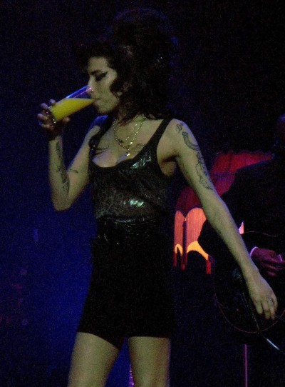 Drunk Amy Winehouse