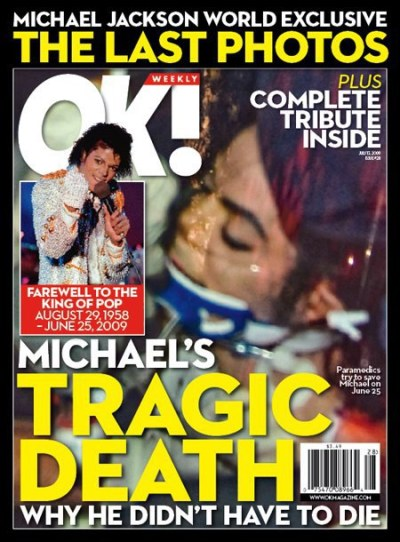 Michael Jackson OK! Cover