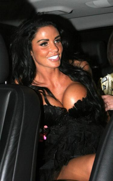 Katie Price, Breasts