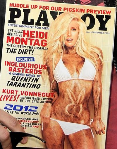 Heidi Montag Playboy Cover