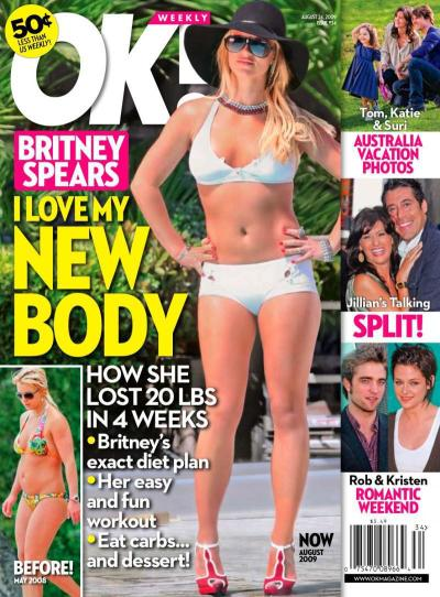 Britney Spears' New Body!
