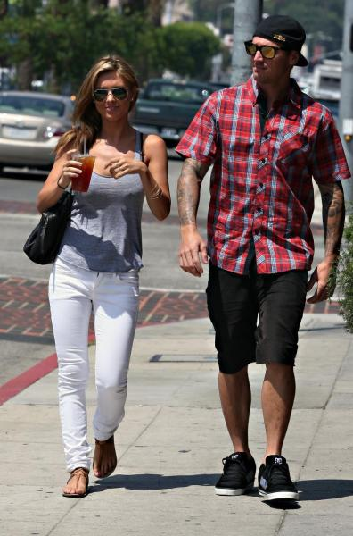Corey Bohan and Audrina Patridge Pic