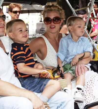 Sean, Jayden and Britney Federline