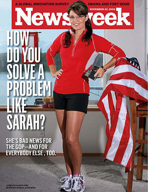 Newsweek Cover of Sarah Palin