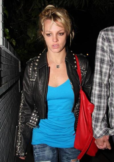 Sad Britney Photo
