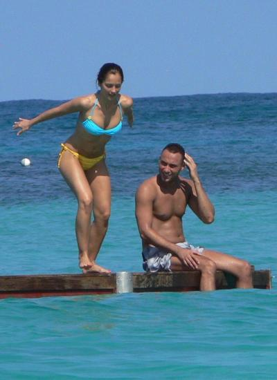 Derek Jeter and Minka Kelly Picture