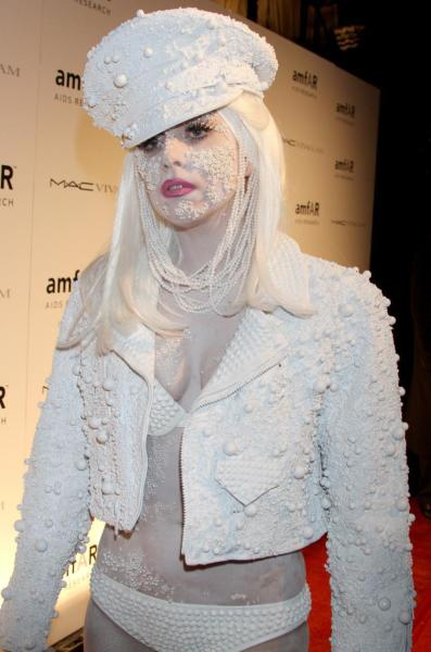 Fashion Week Lady Gaga